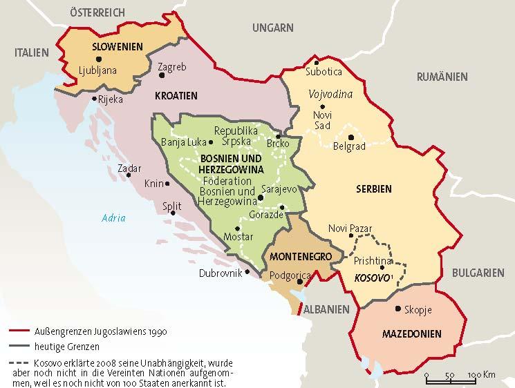 Jugoslawien Karte.Lmd Karten
