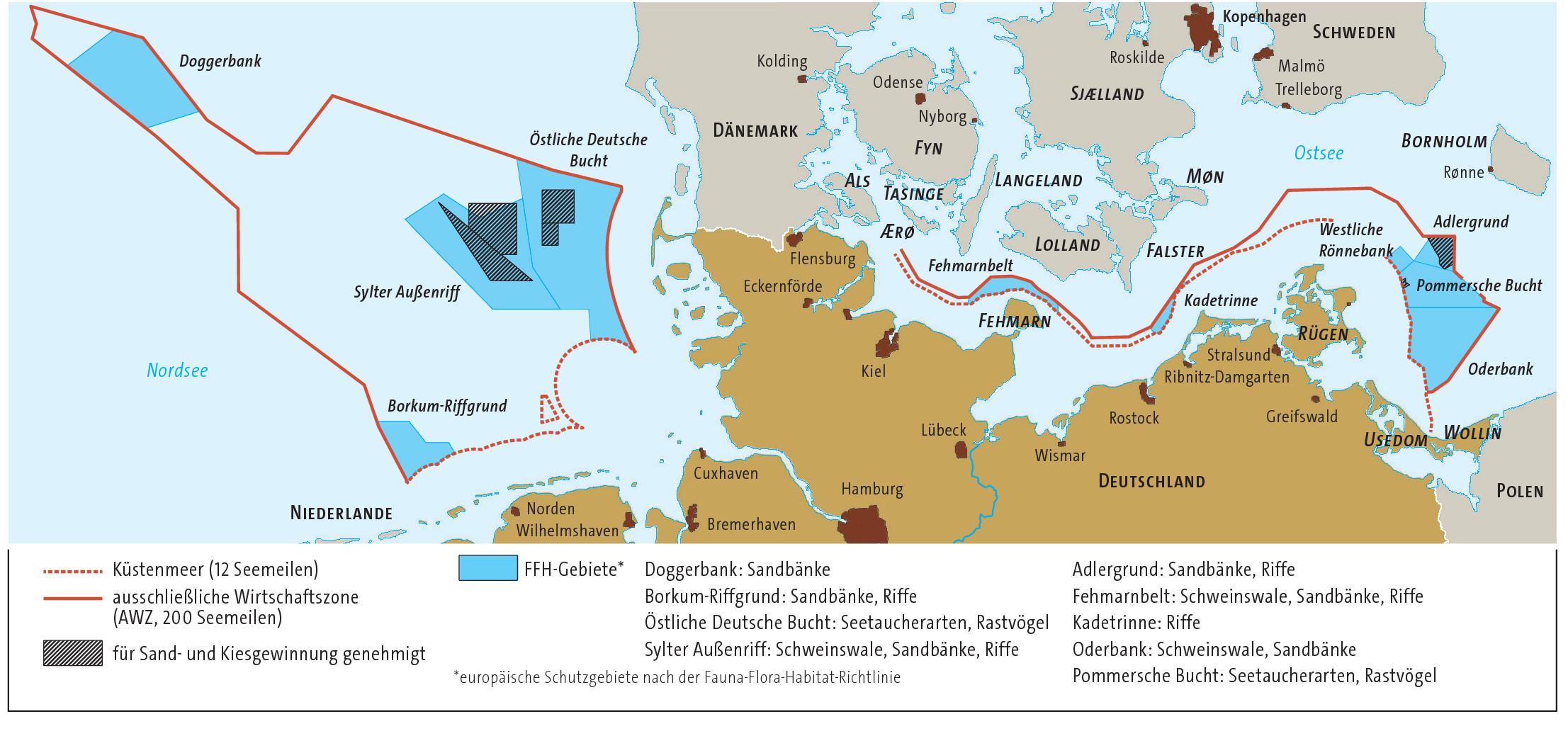 lmd karten - Karte Deutschland Ostsee